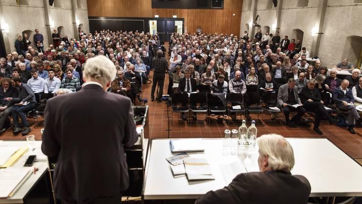 Die Gemeindeversammlung der Stadt Solothurn bleibt.