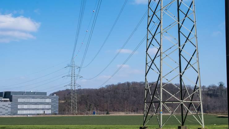Diese Stromleitung stört die Organisation des Schwingfestes in Pratteln.