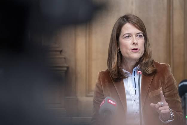 FDP-Präsidentin Petra Gössi ist die Politik der Schweizer Städte ein Dorn im Auge.