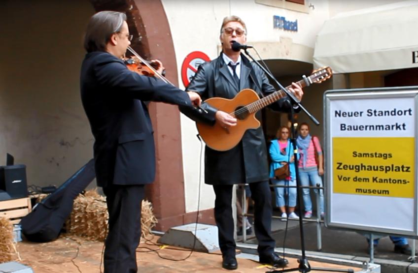Musical-Star Florian Schneider singt ein neues Baselbieter Lied