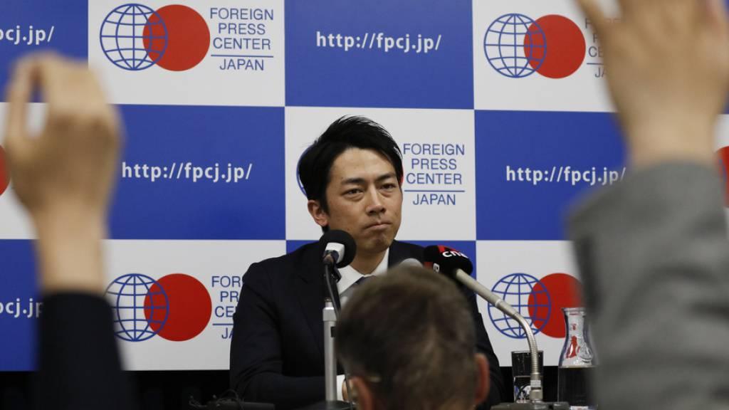 Japanischer Minister wird Vater - Elternauszeit sorgt für Sensation