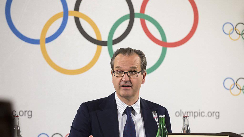 IOC-Sprecher Mark Adams