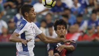 Lausannes Yeltsin Tejeda (rechts) steht mit Costa Rica im Gold-Cup-Halbfinal