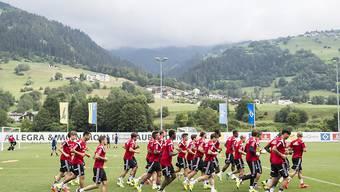 Im vergangenen Sommer gastierte der Hamburger SV für sein Trainingslager im Bündnerland