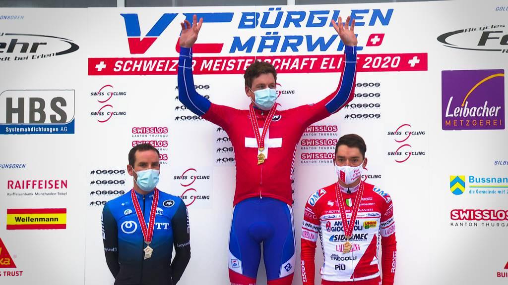 Stefan Küng erstmals Schweizer Strassen-Meister