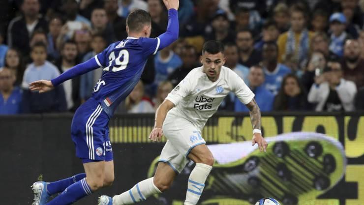 Nemanja Radonjic traf erneut, Marseille gab aber in Metz Punkte ab (Archivbild)