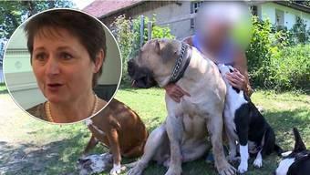 """Franziska Roth über ihre Verfügung, welche die Züchterin betrifft: """"Sie darf pro Spaziergang nur noch mit einem Hund ins Freie."""""""