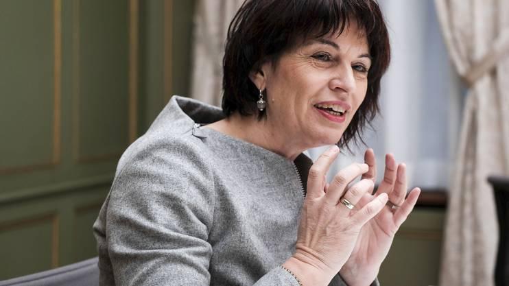 Bundesrätin Doris Leuthard