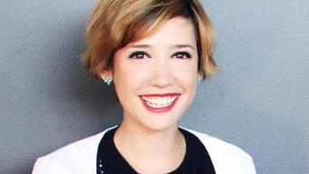 Lebt für ihren Job: Joiz-Moderatorin Gülsha Adiliji (Bild Facebook)