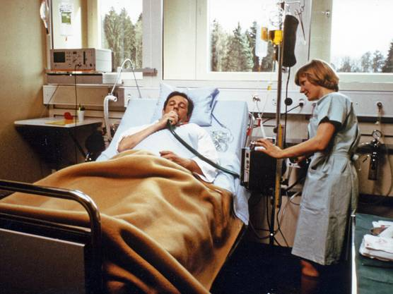 Das Sauerstoffgerät sah noch ein wenig anders aus