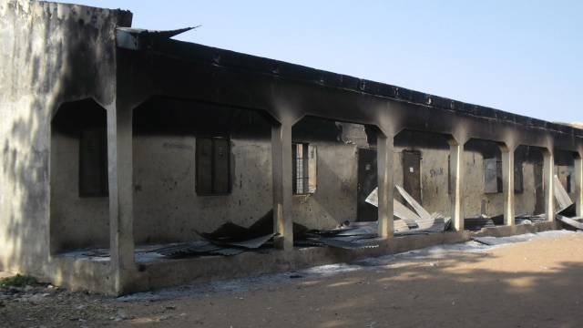 Immer wieder kommt es zu Anschlägen: Hier auf eine Schule (Archiv)