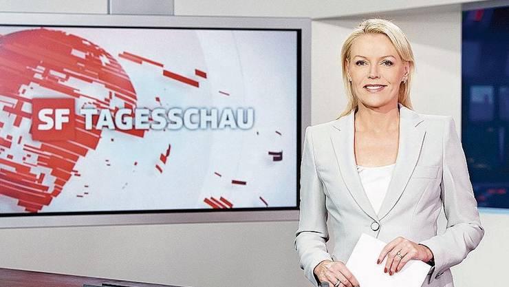 «Miss Tagesschau»: Fast dreissig Jahre war Katja Stauber das Gesicht der Nachrichtensendung.