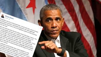 Barack Obama bezog wenige Stunden nach dem Entscheid Stellung zum Entscheid des US-Präsidenten.