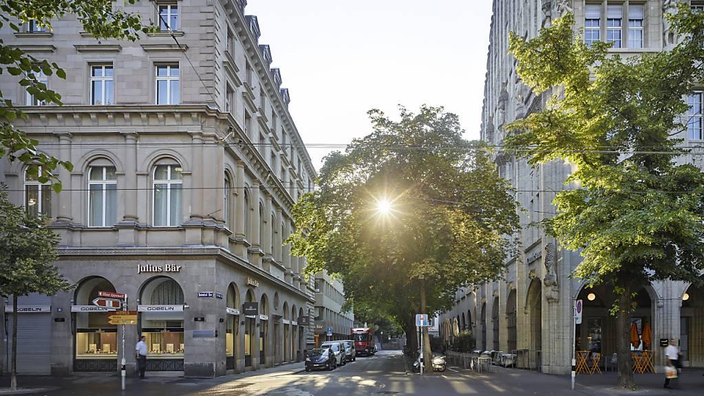 Zürich überholt Genf mit Blick auf Preise und Bewertungen fürs Eigenheim. (Symbolbild)