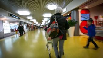 In der Denner-Filiale im Aarauer Telli (Bild) spielte sich der groteske Fall ab.