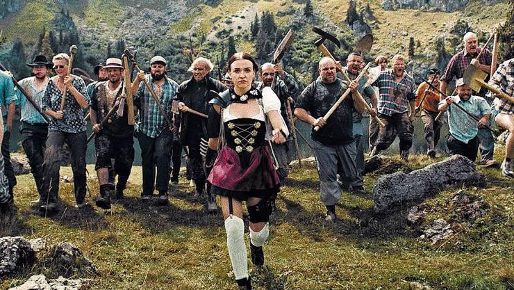 Der Film «Mad Heidi» sorgte für Zoff innerhalb der Kantonspolizei.