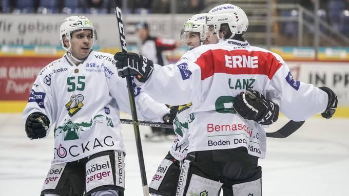 Der EHC Olten feierte zuletzt einen 2:7-Auswärtssieg gegen den EHC Kloten.