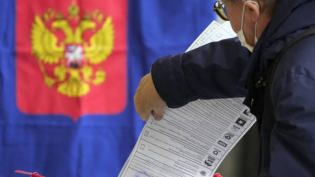 Nach Ende der Auszählung: Kremlpartei gewinnt Russland-Wahl
