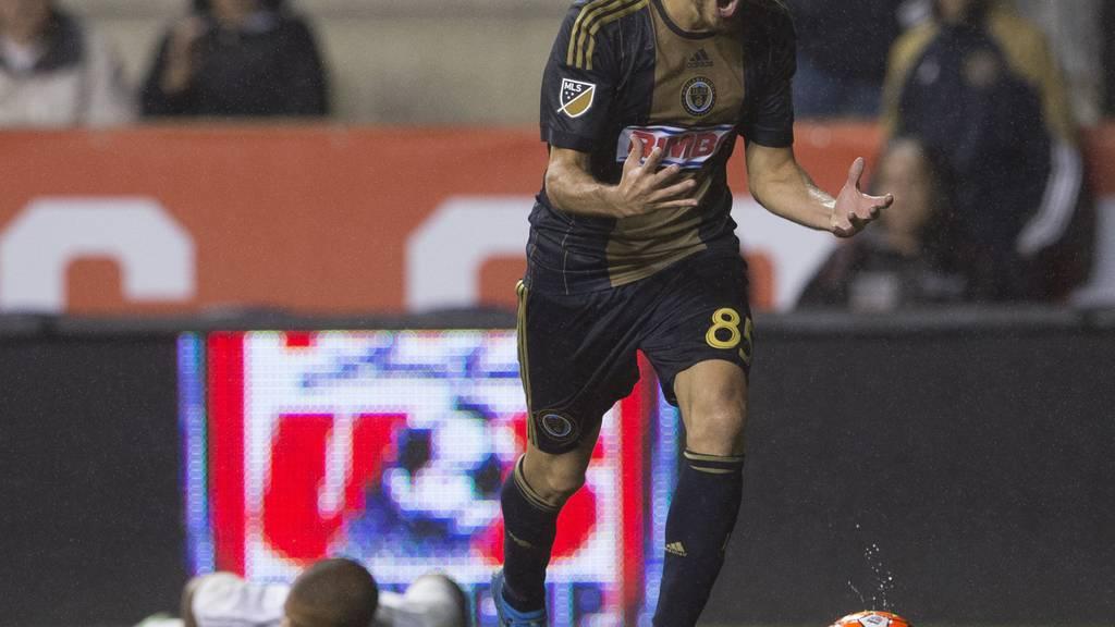 Tranquillo Barnetta hat von Philadelphia keine Trainingsfreigabe erhalten.  (Photo by Mitchell Leff/Getty Images)