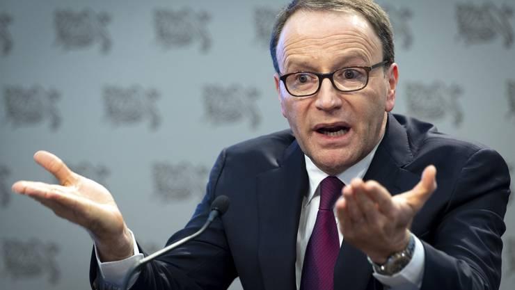 Nestlé-Chef Mark Schneider will seine Markenrechte beschützen.