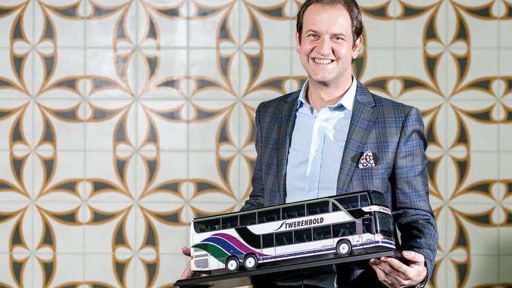 Karim Twerenbold, VR-Präsident der Twerenbold Reisen AG, sass bei zwei Reisen selber als Chauffeur am Steuer.