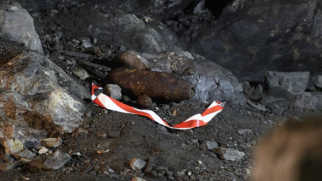 Gutachten: Einkapselung der Mitholz-Munition ist keine Lösung