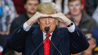 Donald Trump stellt sich sein Wahlkampfsongs selbst zusammen.