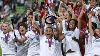 Bei den letzten vier Austragungen der Champions League der Frauen triumphierten stets die Fussballerinnen von Lyon