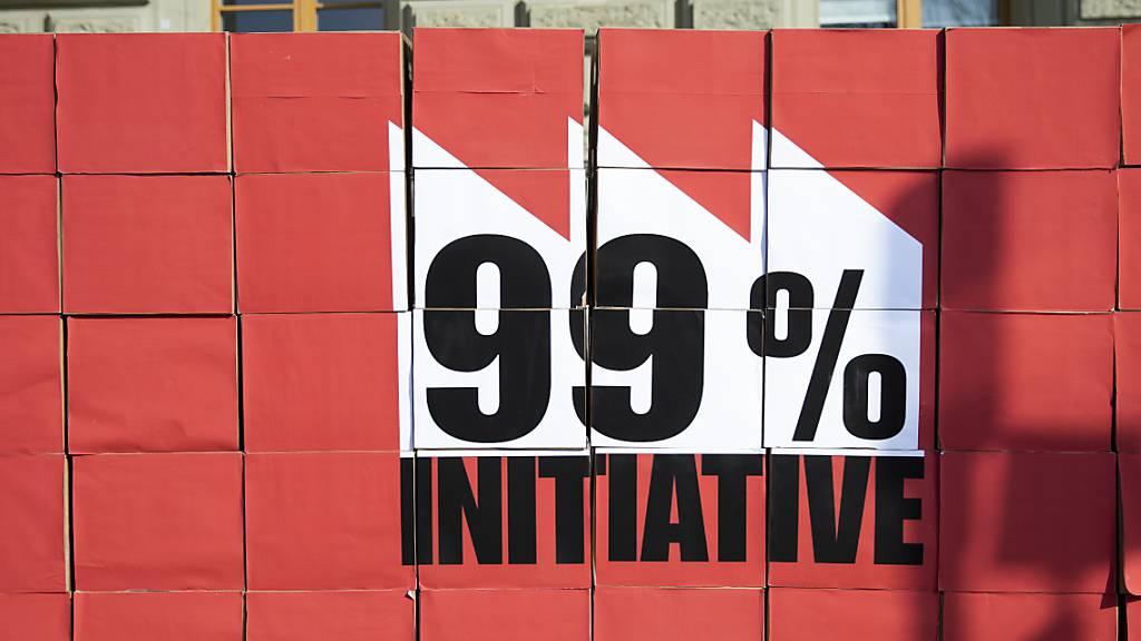 Auch Ständerat dagegen: Parlament lehnt 99-Prozent-Initiative ab