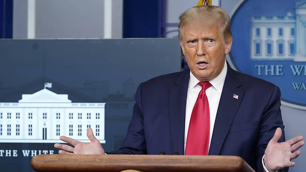 Trump: Habe Amerikaner nicht über Corona-Risiko belogen