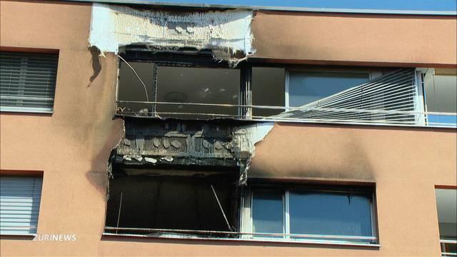 Wohnungsbrand Seebach: Bewohner sprangen aus Fenster