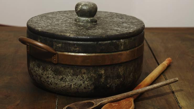Kochtopf aus Stein