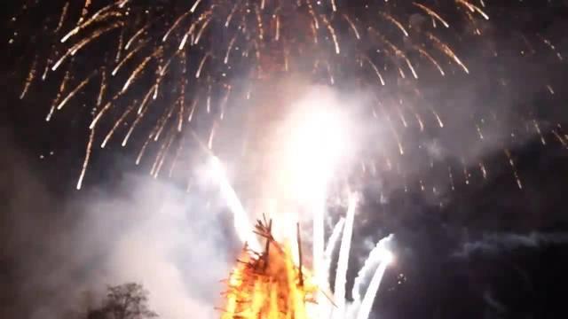 Mittefasten-Feuerwerk 2018