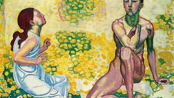 Ganz ähnlich ist Ferdinand Hodlers «Der Frühling III» um 1907–1910.