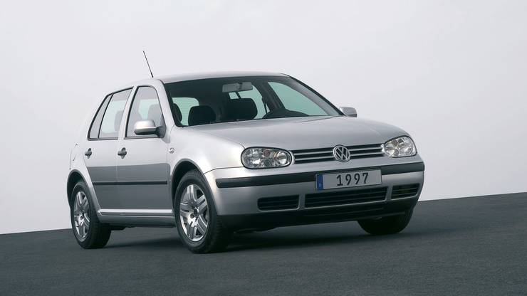 VW Golf IV, 1997