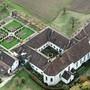 Das Solothurner Kloster Namen Jesu von oben. Derzeit wird geprüft, wie die Anlage zukünftig genutzt werden soll.