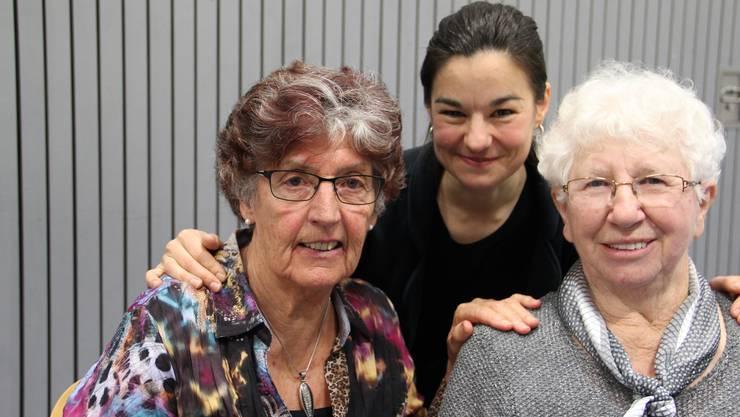v.l. Bernadette Würth-Füglister, Corinne Rufli und Vreni Tschümmy. (2)