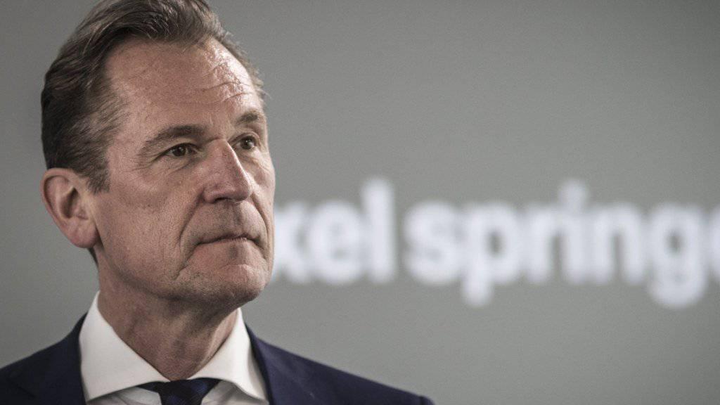 Axel Springer liebäugelt mit Zukäufen