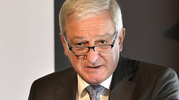 Novartis-Präsident Jörg Reinhardt könnte Einfluss auf die Generalversammlung nehmen. Er kennt die Abstimmungsergebnisse offenbar im Voraus.