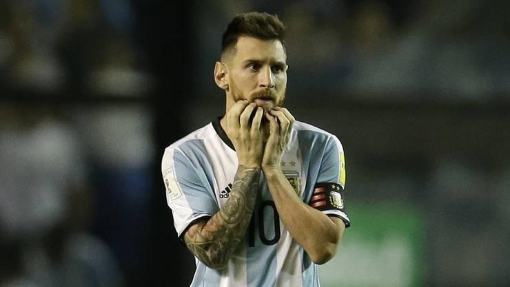 Argentinien steht vor dem WM-Aus.