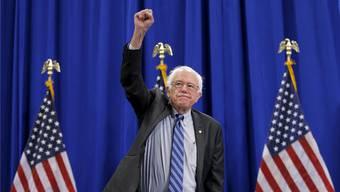 Überraschender Aufstieg als demokratischer Kandidat: Bernie Sanders.Reuters