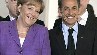 Merkel und Sarkozy gemeinsam gegen C02-Sünder