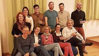 Elf der dreizehn Kandidaten der Grünliberalen.