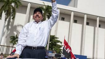 Der Präsident Nicaraguas, Daniel Ortega, will trotz der anhaltenden Proteste in seinem Land nicht zurücktreten.