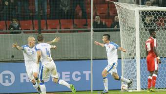 Testspiel: Schweiz gegen Slowakei