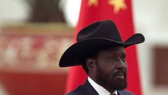 Südsudans Präsident Salva Kiir weilt gegenwärtig in China
