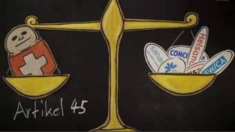 Bildausschnitt vom Beitrag «Politiker prellen Konsumenten: Kniefall vor Versicherungslobby».