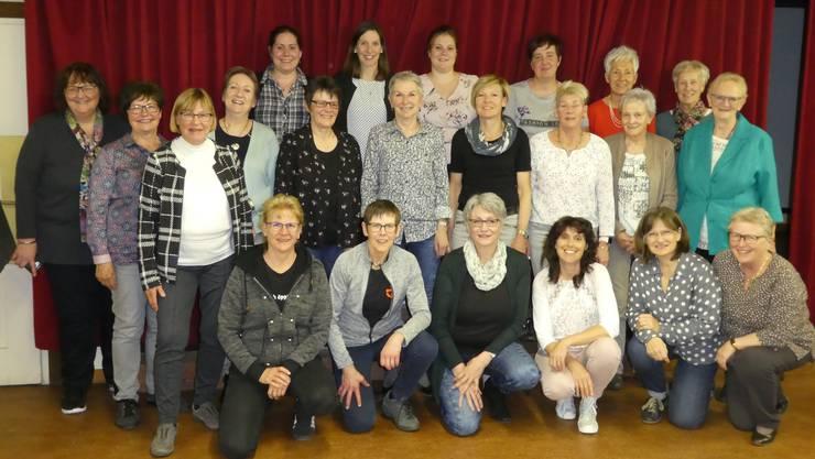 Die Teilnehmerinnen an der GV