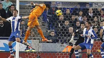 Pepe trifft per Kopf zum 1:0-Sieg für Real Madrid