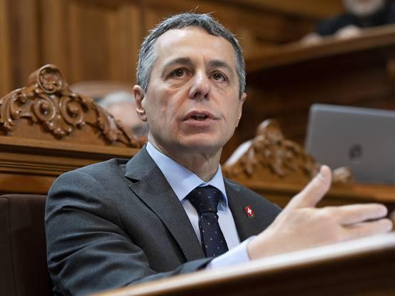 Ignazio Cassis (FDP): Departement für auswärtige Angelegenheiten (EDA).